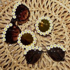 DAISY SUNGLASSES by OBSESSED SHADES on ETSY  perfect for coachella and festival style!