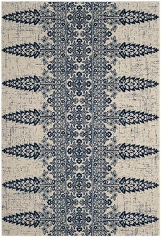 Safavieh Evoke Area Rug - This Ivory - Royal rug would make a wonderful addition to any home. Discover why so many decide to shop with RugStudio Transitional Rugs, Light Blue Area Rug, Beige Area Rugs, Rugs Online, Bohemian Rug, Ivory, House Styles, Fashion Forward, Swedish Embroidery