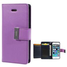 Köp Mercury Rich Diary Case Apple iPhone SE/5S/5 lila online: http://www.phonelife.se/mercury-rich-diary-case-apple-iphone-se-5s-5-lila