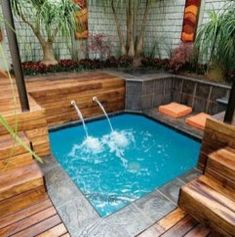 Cozy Small Swimming Pool Ideas For Outdoor Decoration 03