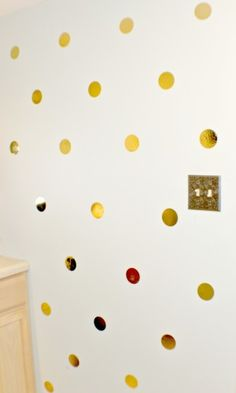 Get Organized With WallPops Gold Confetti Organization Kit & Dots - Bites Reviews You Can Use