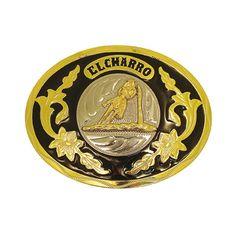 F203 – Limited Edition -2008 - El Charro - La corsa del cowboy sul suo destriero.  L'immagine è racchiusa su uno sfondo nero su cui sovrastano i decori dorati. La scritta El Charro infine domina sul tutto.  La F203 è una fibbia completa, realizzata sul modello originale in Zamak (nickel free) nel 2008. Ne sono stati prodotti solo 300 pezzi.  Misura 10 x 8 cm.