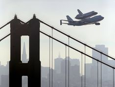 Endeavour, Golden Gate Bridge