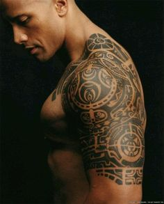"Dwayne ""the Rock"" Johnson....are all Samoan men this fine?"