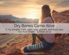 Laura gives powerful testimony to the Lord's healing power. He opens our graves, calls us to rise, and breathes Spirit-filled Life into our dry bones! Dry Bones Come Alive, Cry Out To Jesus, Ezekiel 37, I Will Be Okay, Skin And Bones, Stress Disorders, Healing Power, Pelvic Floor, Words Worth