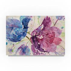 Albena Hristova 'Fireworks Abstract v2' Canvas Art