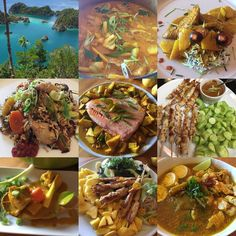 Indonesian food #indonesia #island #ocean #amazing #beautiful #indonesianfood #curry #chickensatay #gadogado #nasigoreng #sotoayam #foodblogger #chef #luchiachia #magnifiquedive #foodblog #chefoninstagram #siliconvalley #bayarea #sanfrancisco #instafood #foodie #gourmandise #foodlover