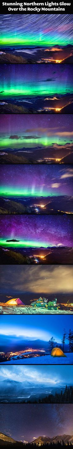 Glow of the Northern Lights…
