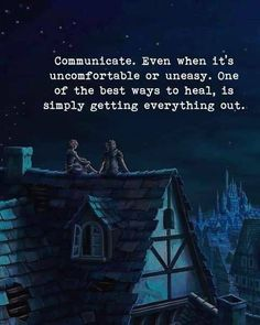 Communicate. Even when it's uncomfortable or uneasy.. —via http://ift.tt/2eY7hg4