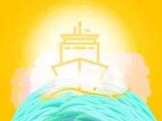 Ship Icon (SVG) by ufuk aydın