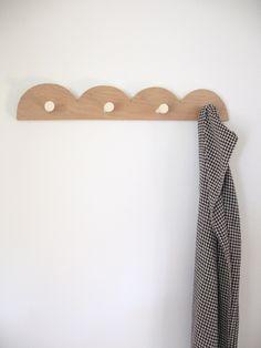 Scallop Coat Rack
