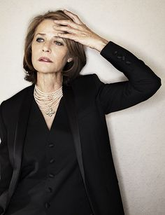 Edith || Charlotte Rampling by Jerome Bonnet