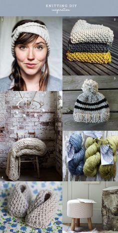 Ideas para hacer punto Knit Crochet, Crochet Hats, Cute Presents, Ideas Para, Lana, Knitwear, Diy, Homemade, Crafty