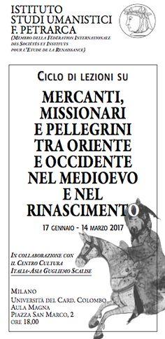 Italia Medievale: Mercanti, missionari e pellegrini tra Oriente e Occidente nel Medioevo e nel Rinascimento