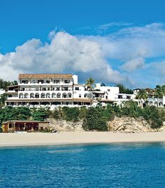 La Samanna has one of the Caribbean's only private beaches! #jetsettercurator