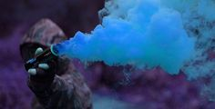 Colorful Smoke Grenade. Perfect for Paintball or  Airsoft
