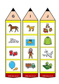Beginning Sound Activity Cards Flashcards For Toddlers, Preschool Worksheets, Preschool Crafts, Phonics Reading, Kindergarten Reading, Teaching The Alphabet, Teaching Kids, English Activities, Preschool Activities