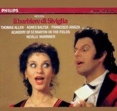 Amazon.com: Rossini: Il Barbiere di Siviglia: Agnes Baltsa, Thomas Allen, Francisco Araiza, Giacomo Rossini, Neville Marriner, Academy of St.Martin-in-the-Fields: Music