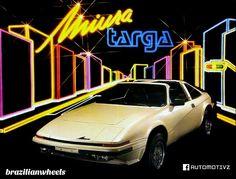 Miura Targa  1985  brazilian cars