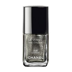 Chanel Graphite - Le Vernis 529  Efeito Metálico   Mirrored Effect