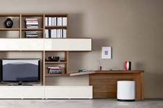 Libreria a giorno con porta tv MAGIC MATRIX | Libreria con porta tv ...