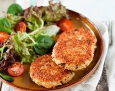 Galettes de boulgour-quinoa aux fromages et aux herbes (facile, rapide) - Une recette CuisineAZ