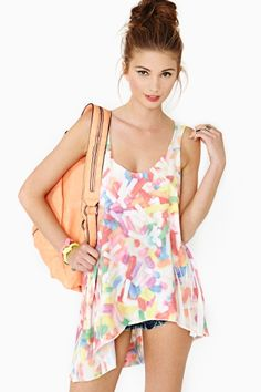 Ziggy Tank in Candy by Local Celebrity