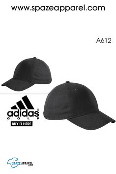 fe6e549522d Buy Adidas Golf A612 Performance Front Hit Relaxed Cap in Bulk