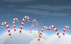 Candy Cane Hills Wallpapers,