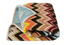 Missoni for Target blanket! I cannot wait until the Missoni Home line goes on sale! I love them. I love stripes. I love bright colors. The end.