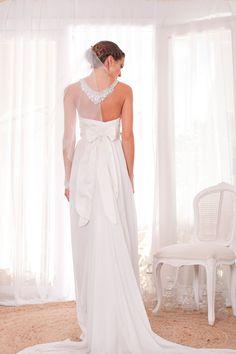 Found on WeddingMeYou.com - Anna Campbell Alexandra Unique Wedding Dress