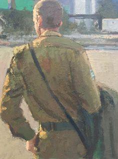 Yisrael Dror Hemed, Untitled, 2015, Oil on canvas, 80x50 cm