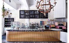 店舗デザインの作品アーガイブ / デザイナーズショーケース - CAFÉ ANNTEANA