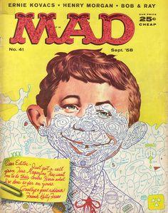 Mad Magazine. No. 41. Sept. '58.
