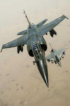 Mirage F1+Rafale