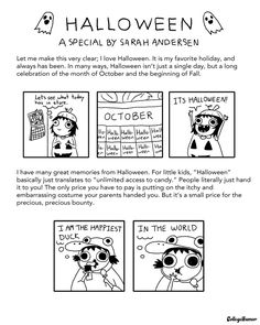 Halloween ▪ A Special by Sarah Andersen