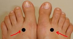 If you apply pressure to the point located between the webbing of the big and second toes and holding for 2 minutes than you will: Stimulate the regulation and refreshment of the liver Help in curing vision issues; Alleviating menstrual cramps; Alleviating headaches; Helping in lower back pain; Sleeping disorders and insomnia. Another point you…