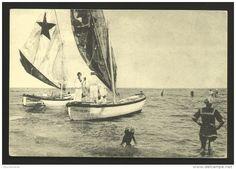 Gli italiani ai bagni di mare negli anni '30