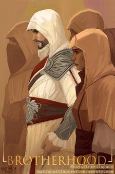 Assassin's Creed Brotherhood, Infamous Second Son, Assassins Creed Art, Art Blog, Digital Art, Fan Art, Saga, Illustration, Artwork