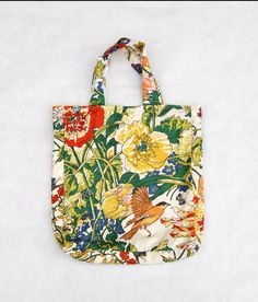 cute tote bag - eco fashion anthropologie inspired summer by greenbugmarketplace