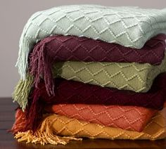 The air is crisp but we're getting cozy with our favorite Porter Throws! Click here to shop more colors.
