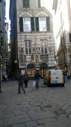 Genova, vicoli centro storico