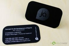 Produced Design: Business Card Design for JaConcepts. Designed by Moksha Media - Daymond E. Lavine, CEO and Graphic Designer.
