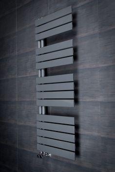 Kristiansund 1380 x Flat Sand Grey Designer Heated Towel Rail - Bathroom Takeaway Bathroom Design Luxury, Modern Bathroom Decor, Bathroom Trends, Bathroom Wall Decor, Bathroom Ideas, Bathroom Organization, Industrial Bathroom, White Bathroom, Bathroom Interior