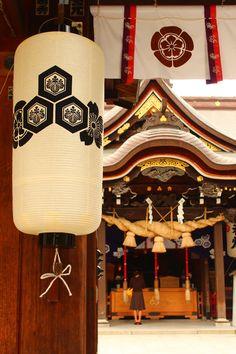 櫛田神社 Kushida shrine Fukuoka,Japan