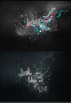 tipografia e ilustração digital ::::::::::::: <3