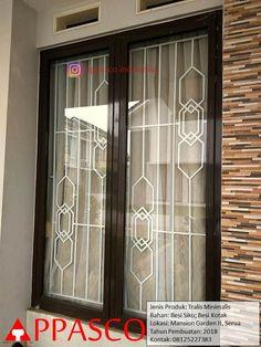 Home Window Grill Design, Window Grill Design Modern, Door And Window Design, Balcony Grill Design, Grill Door Design, Door Gate Design, House Gate Design, Room Door Design, House Front Design