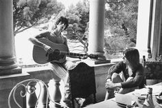 Keith Richards and Gram Parsons