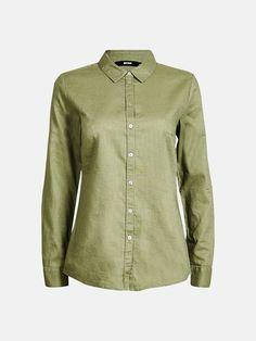 Linnie shirt | 7177453 | Grön | BikBok | Sverige