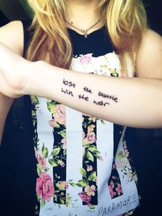 1000 images about paramore tattoo on pinterest paramore paramore tattoo and paramore lyrics. Black Bedroom Furniture Sets. Home Design Ideas